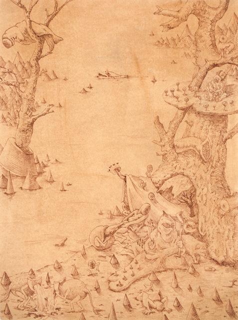 Hyunjeong Lim   Study for Bruegel