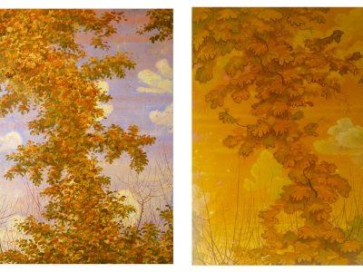 Paula Kane | Leaf Tower I & II