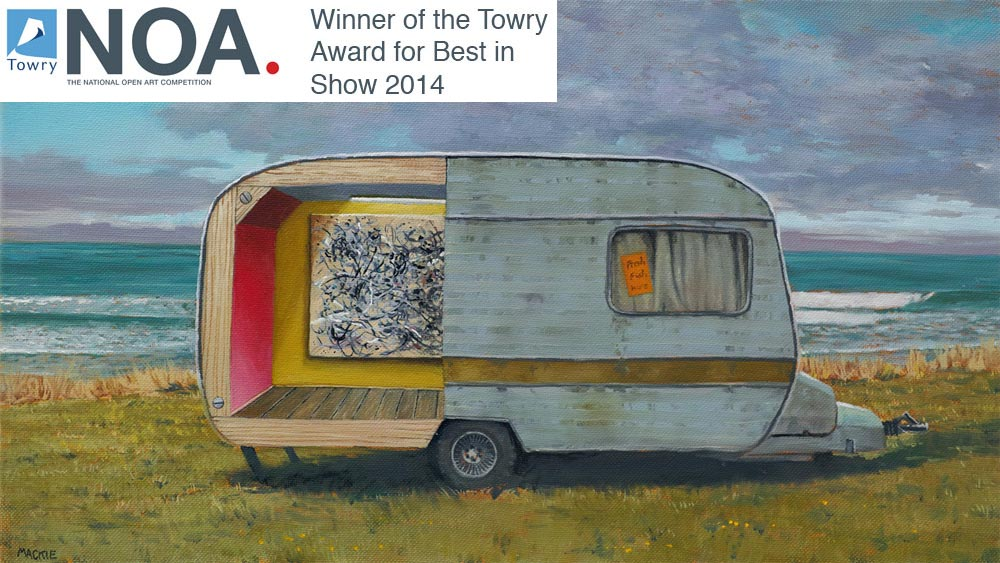 Mackie & Marta Corada: Prize winners at the National Open Art Competition
