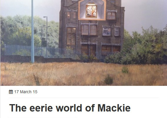 Mackie: Review by Antonia Jackson in AN Magazine