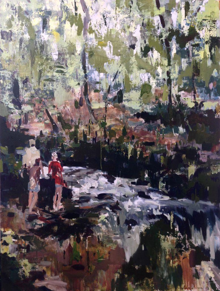 Jon Doran | Group find a river obstructing their path
