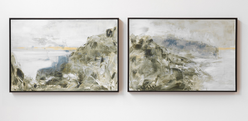 Richard Stone   a sum of parts (diptych)