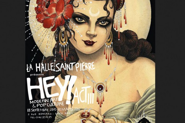 Claire Partington in Hey! Act III, Paris