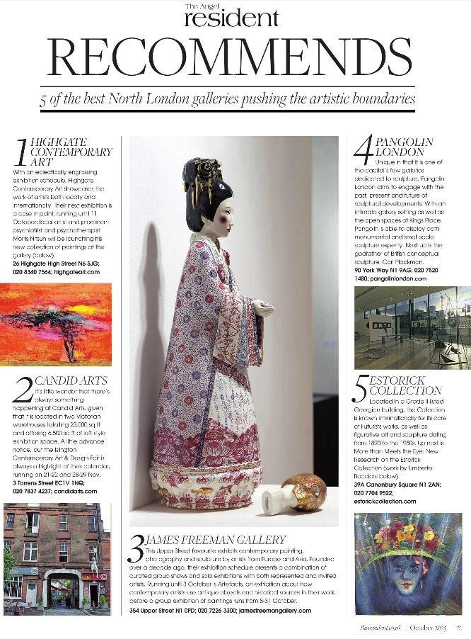 Resident Magazine: Best North London Galleries
