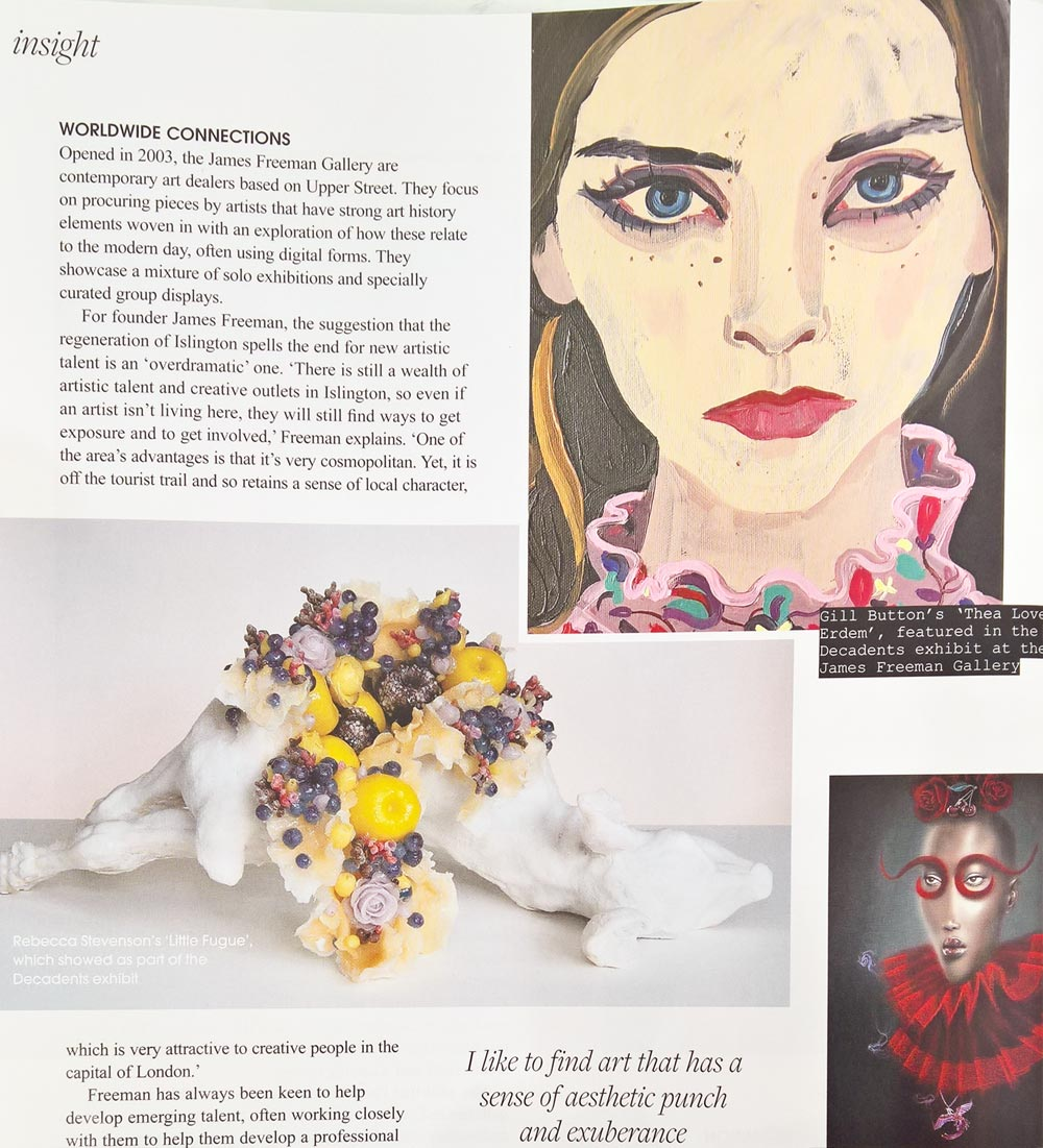 Feature in Resident Magazine by Rachel Mantock