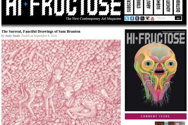 Sam Branton on Hi Fructose