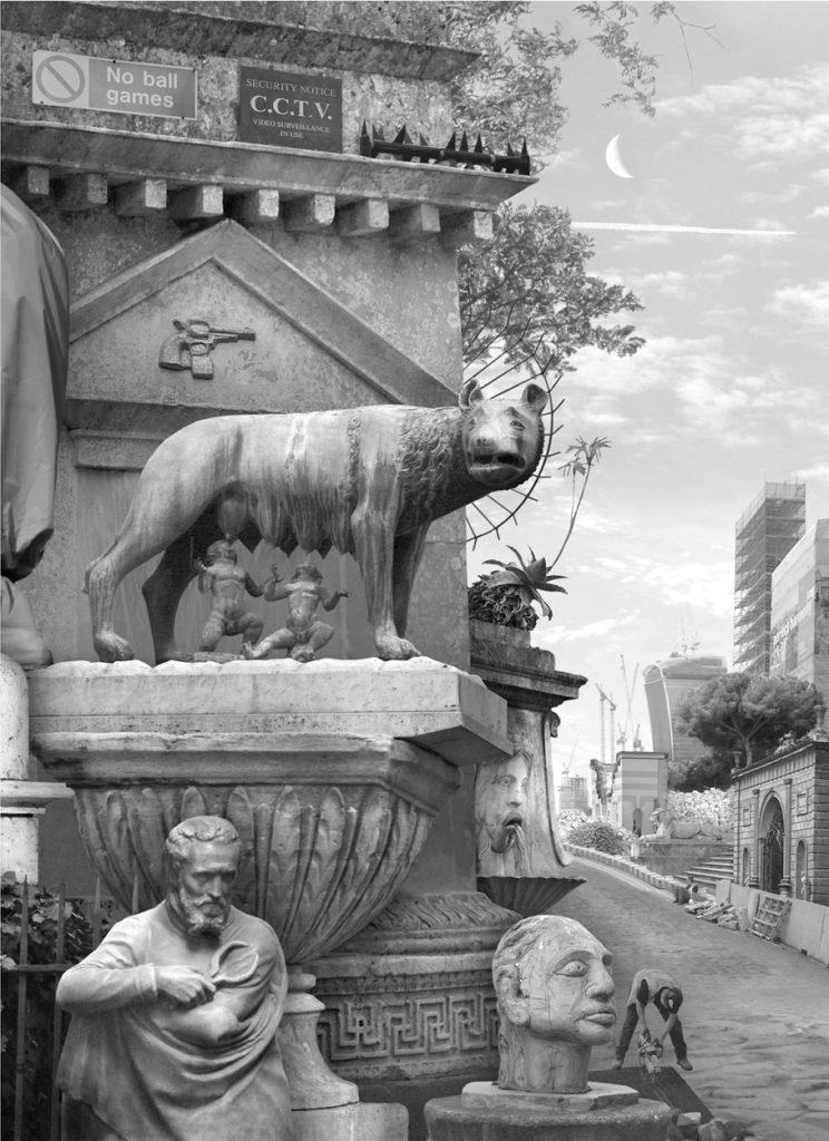 Emily Allchurch | Tale of Two Cities II (after Piranesi)