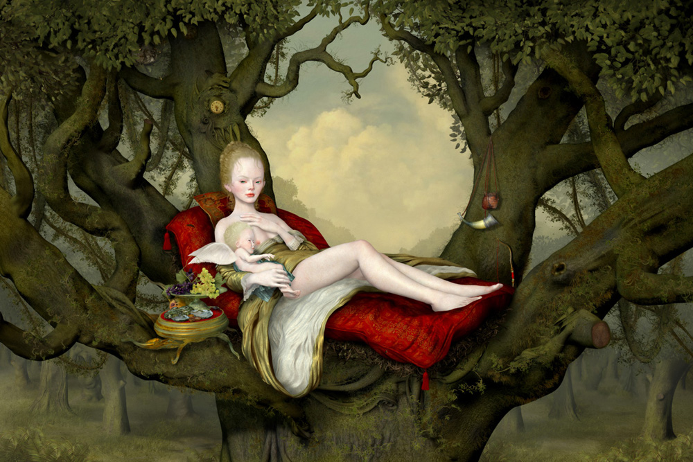 Ray Caesar | Mother and child