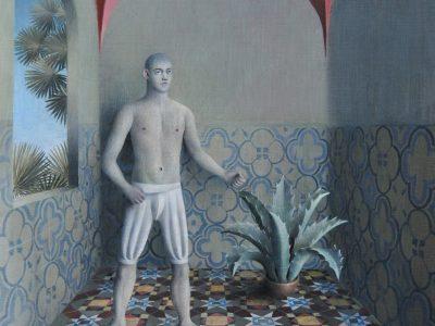 James Mortimer | Tiled room