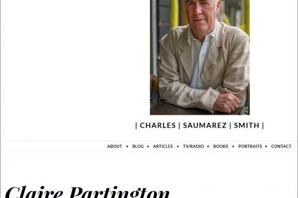 Claire Partington by Charles Saumarez Smith