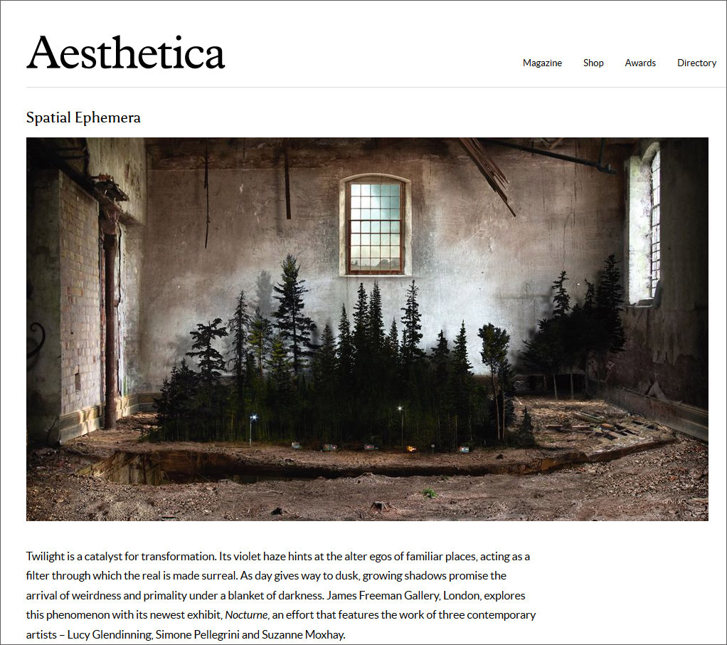 Aesthetica Review of 'Nocturne'