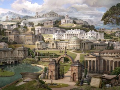 Emily Allchurch | Grand Tour II: Homage to Soane (after Gandy)