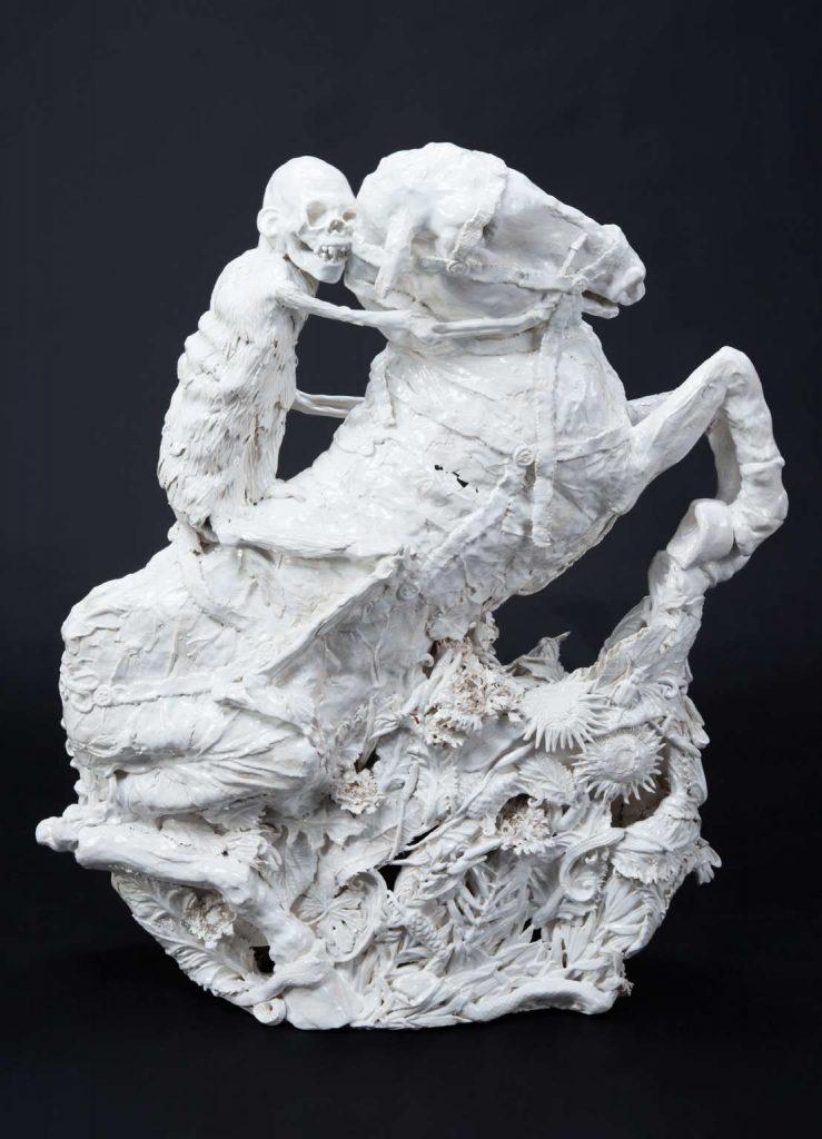 Carolein Smit   White Rider of the Apocalypse