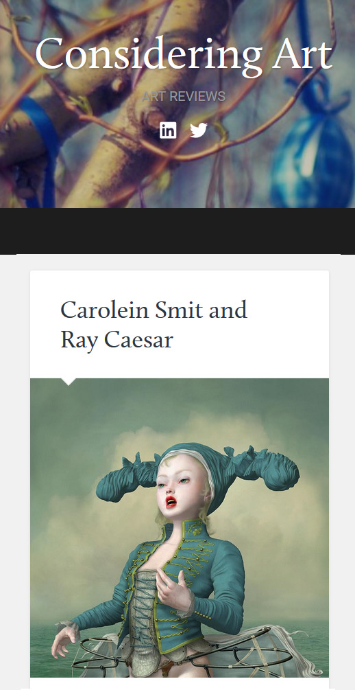 Considering Art Review of Carolein Smit and Ray Caesar