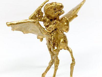 Joshua Goode | Long-Legged Pegasus and Rider