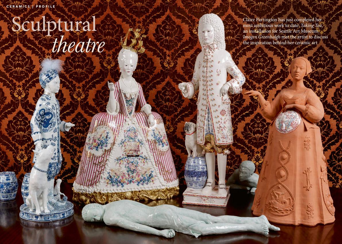 Ceramic Review: Claire Partington Feature