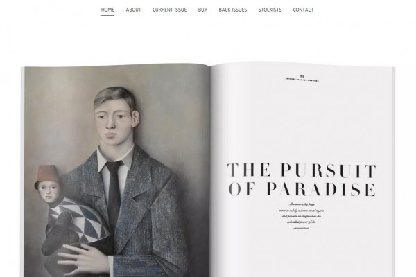 James Mortimer: Feature in 212 Magazine
