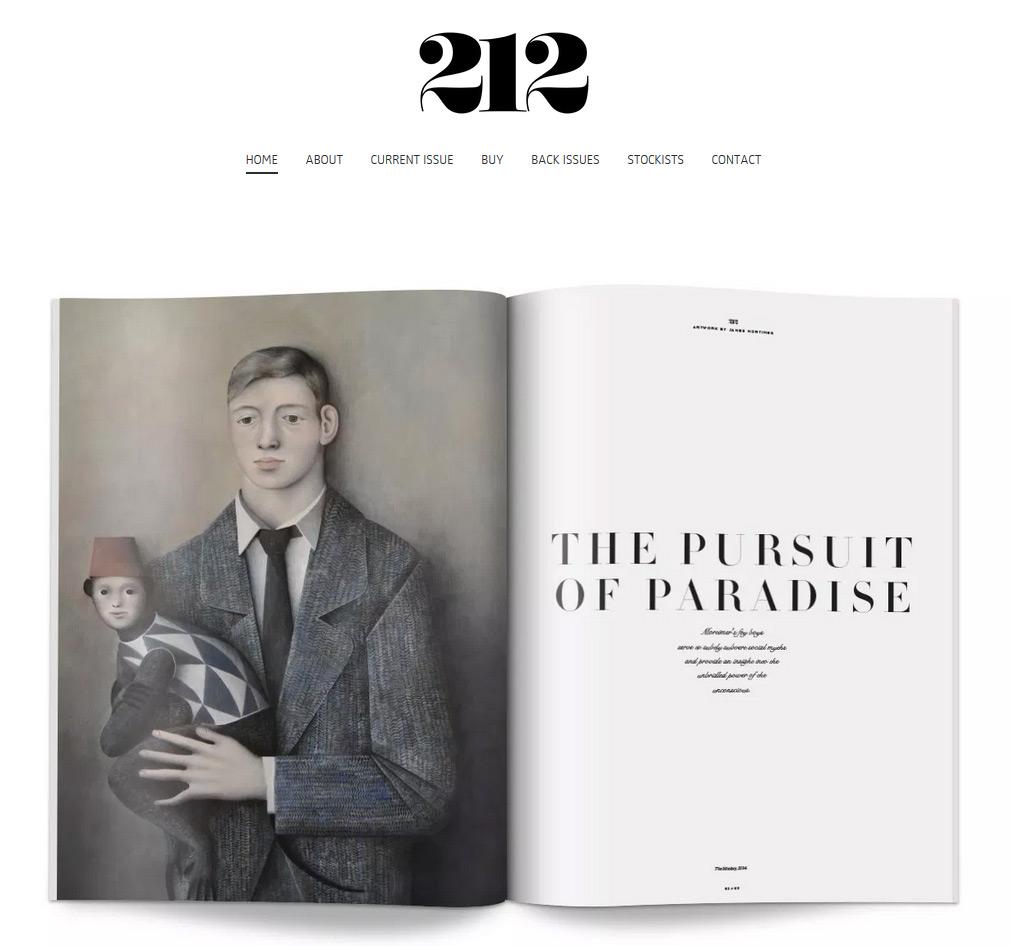 212 Magazine: James Mortimer Feature