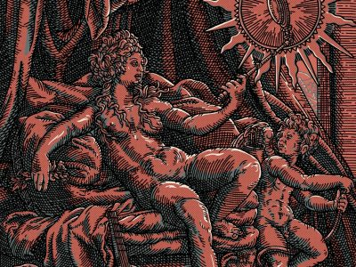 Daniel Hosego | Venus et L'Amour – Red