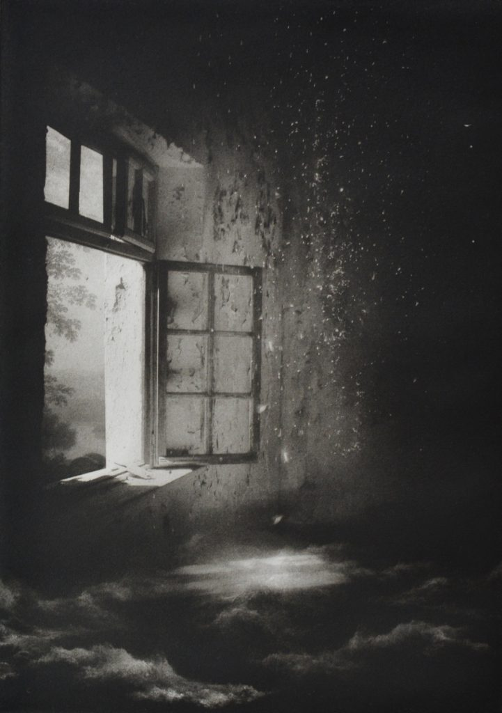 Suzanne Moxhay | Open Window and Rain