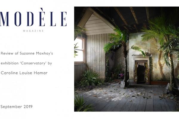 Suzanne Moxhay: Modele Magazine