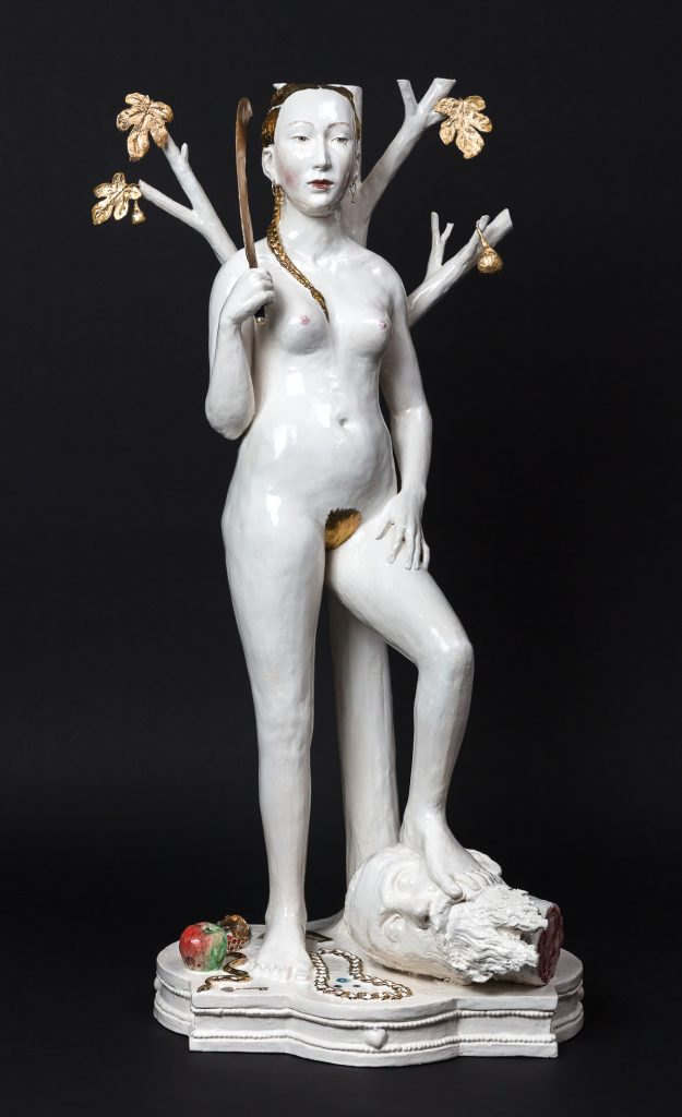 Claire Partington | Judith with the Head of the Artist