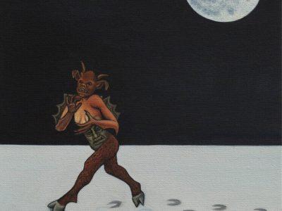 Ben Edge | The Devils Footprints At Super Snow Moon