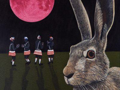 Ben Edge | Pink Hare Moon