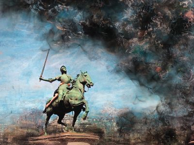 Liane Lang | Fighting Fire (Jeanne D'Arc at St Augustin)