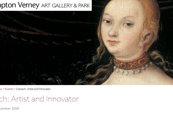 Cranach: Artist and Innovator
