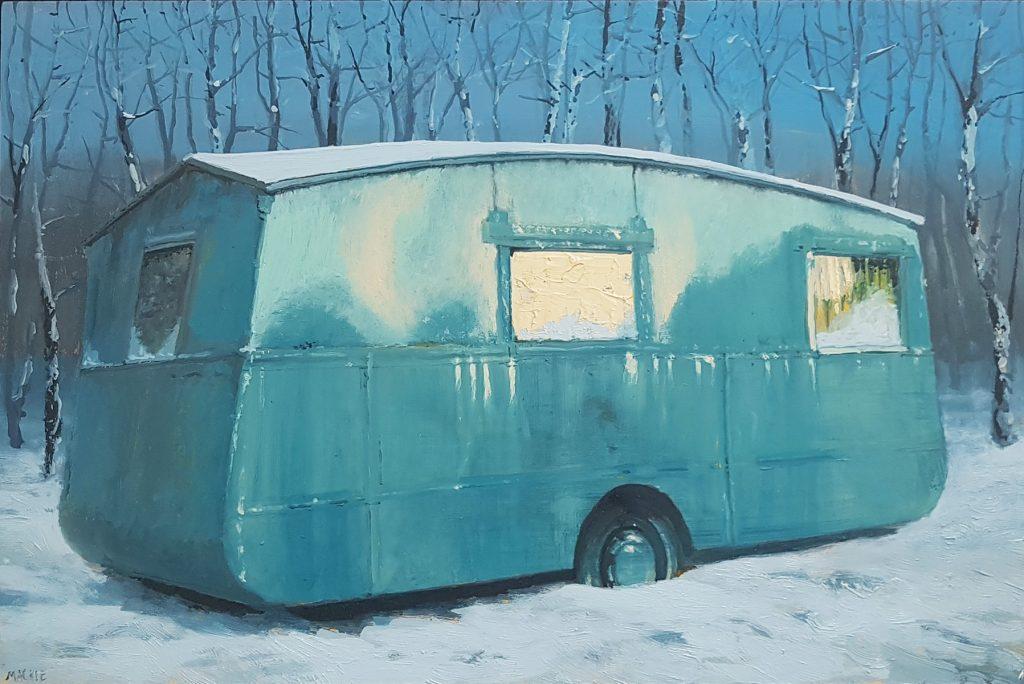 Andrew McIntosh   Caravan near Aviemore