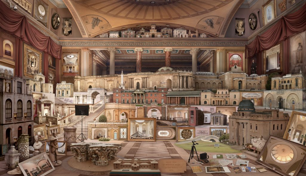 Emily Allchurch | Grand Tour I: Homage to Soane (after Gandy)