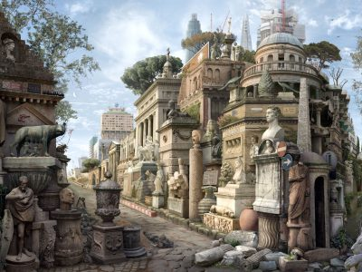 Emily Allchurch | Sic Transit Gloria Mundi (After Piranesi)