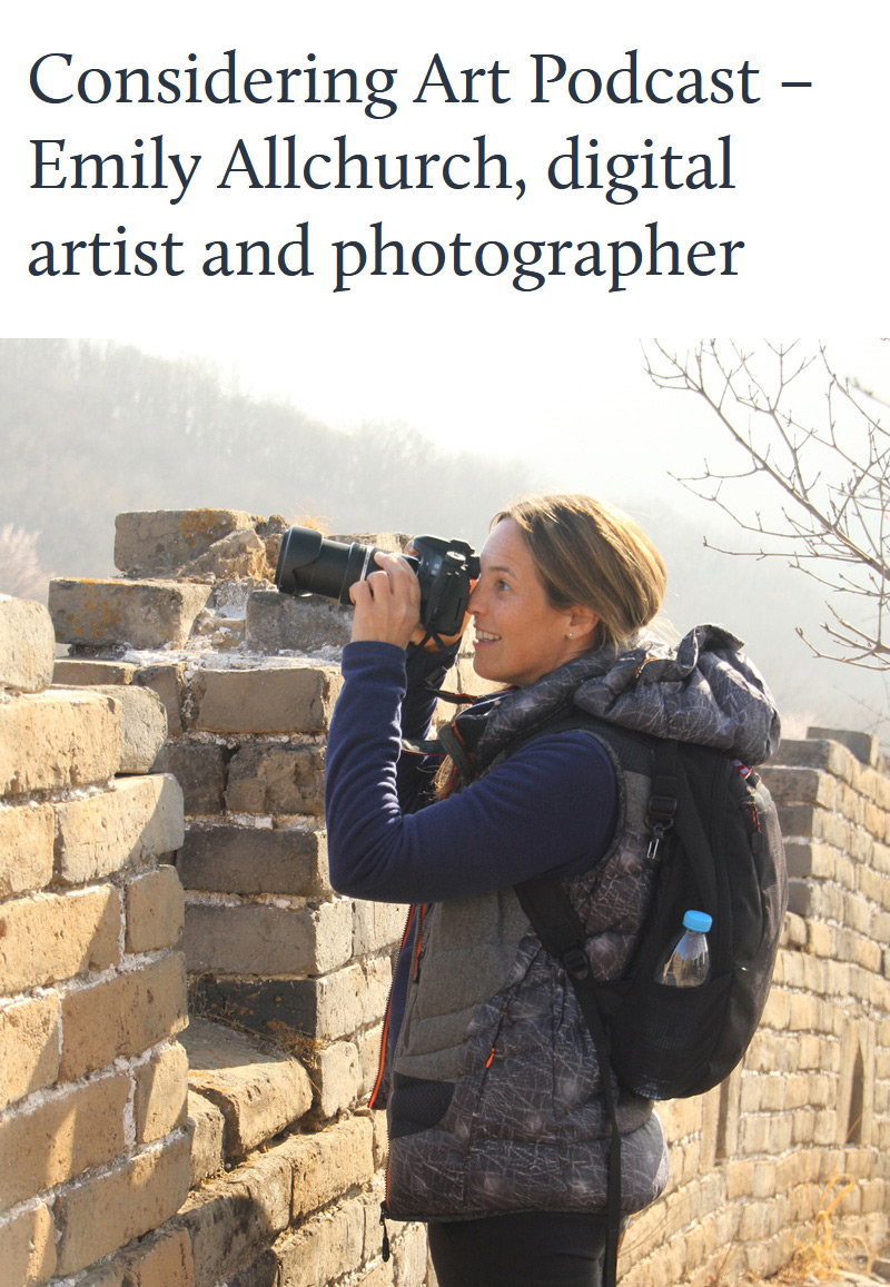 Emily Allchurch - Interview with Considering Art