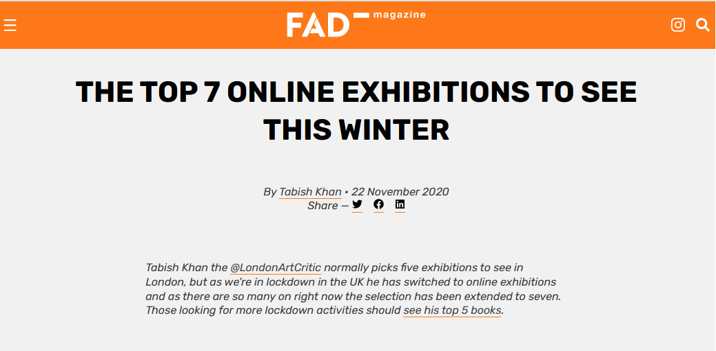Electric Avenue: Top 7 Exhibitions in London