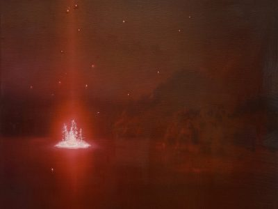 Andrew McIntosh | Plate IV: Ammonium Phosphate And Selenium Solar Impact Testing On Unknown Island