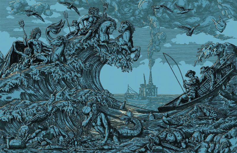 Daniel Hosego  | The Eye of the Storm – Blue