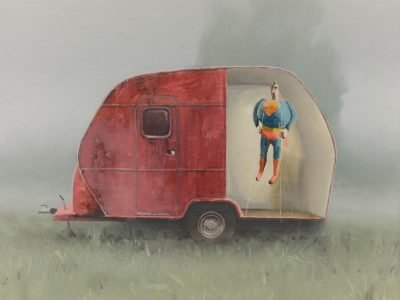 Modern life is rubbish | Inflatable Superman