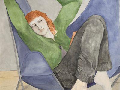 William Brickel   Sitting at Home