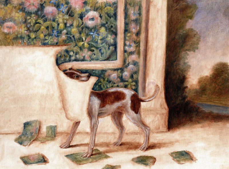 Sam Branton  | Hound with Tapestry