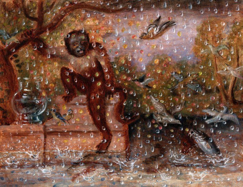 Sam Branton  | Monkey in a Storm