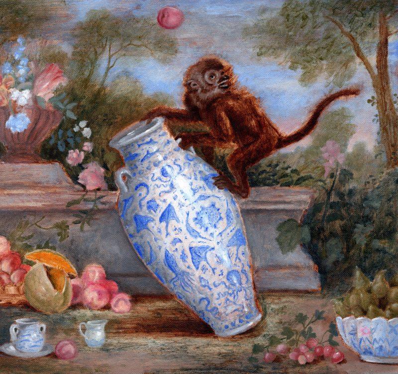 Sam Branton  | Monkey with Large Vessel